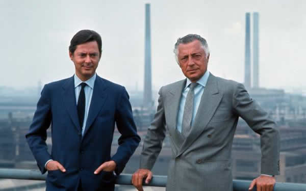 Umberto in Gianni Agnelli